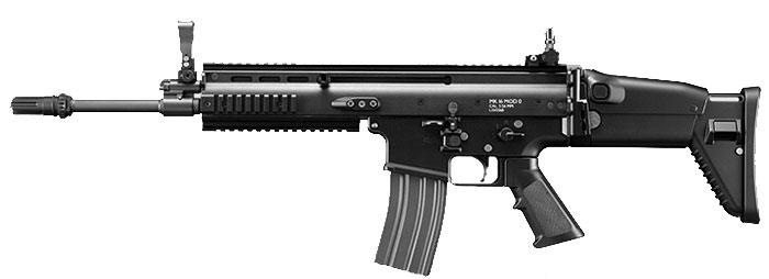 ☆今ならABS BB弾付き 次世代電動ガン 東京マルイ SCAR-L BK
