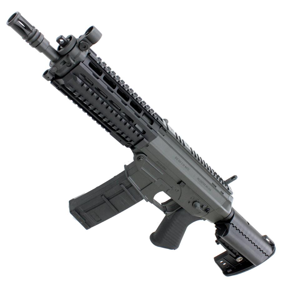 CM001CBK SIG 556 SWAT SBR フルメタル電動ガン BK【180日間安心保証つき】