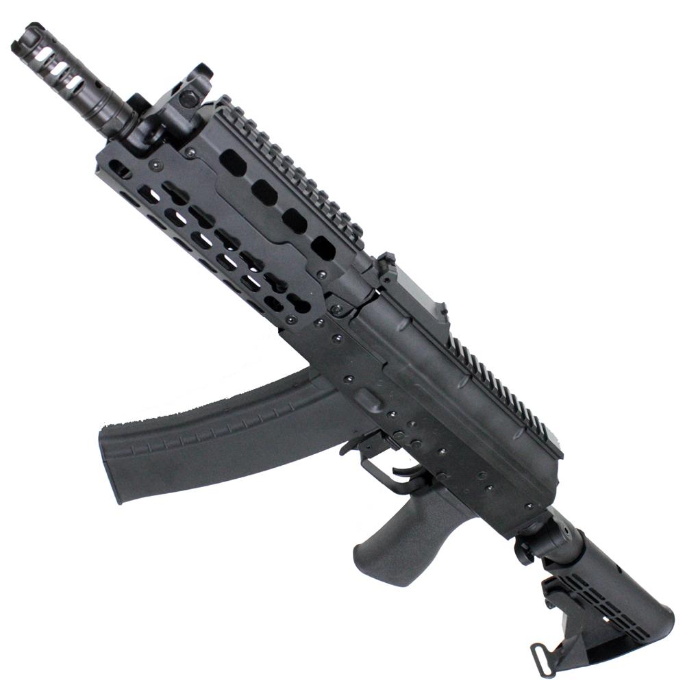 《2月4日新商品》CM076ACE AKS74U Tactical Custom CEストック フルメタル電動ガン【180日間安心保証つき】