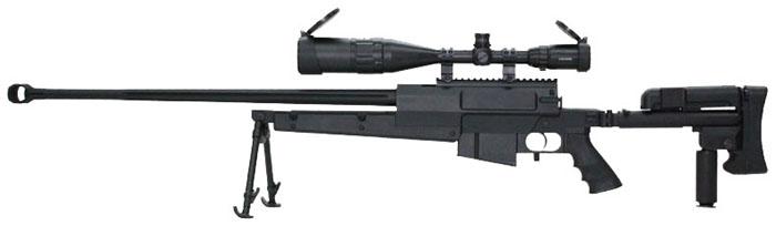 S&T PGM Mini-Hecate.338 ガスライフル BK【ハードガンケース付属】