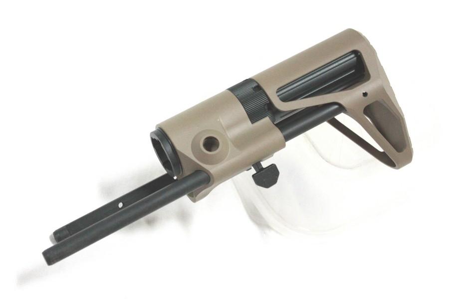 MAXIMA AR15 PDW CQB ストック AEG用 セラコートMDE