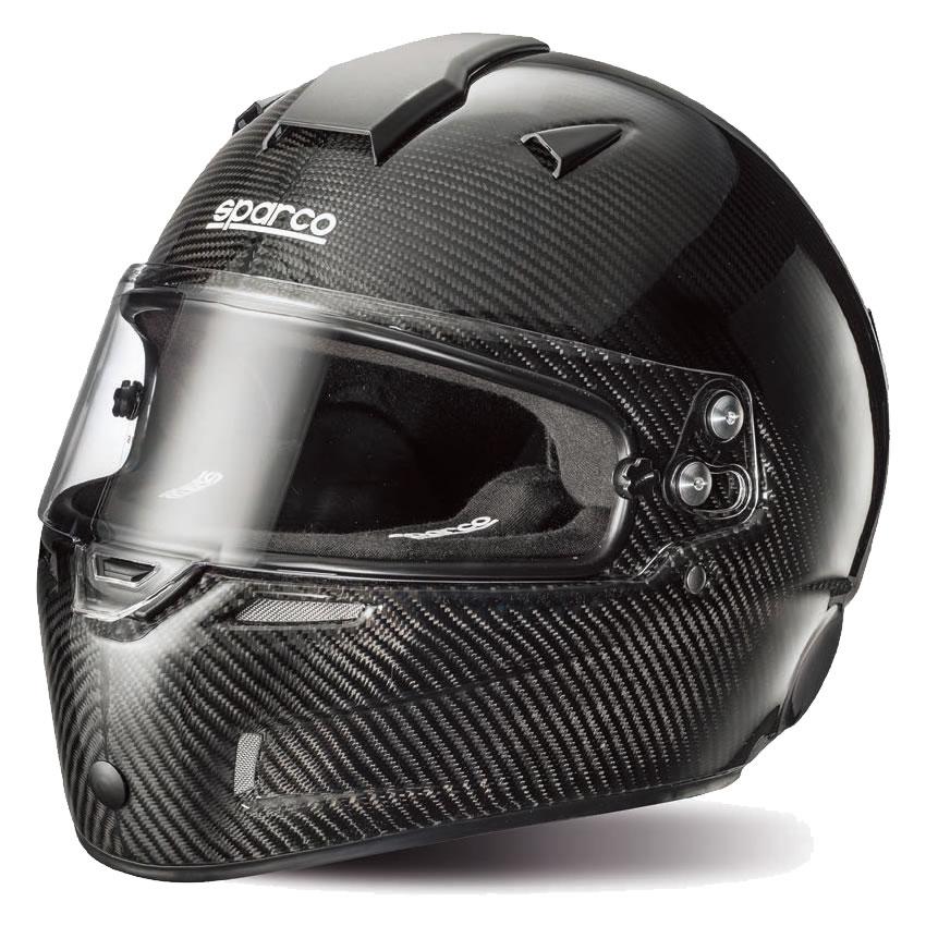 Sparco/スパルコ ヘルメット AIR KF-7W カーボン カート用 スネルKA2015公認