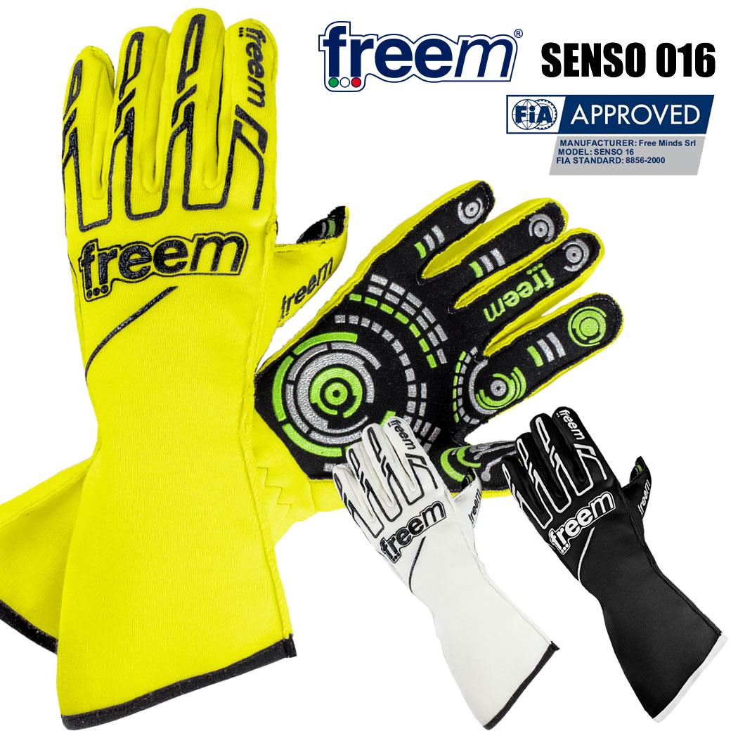 freem フリーム レーシンググローブ 4輪用 Senso 016 FIA 8856-2000公認