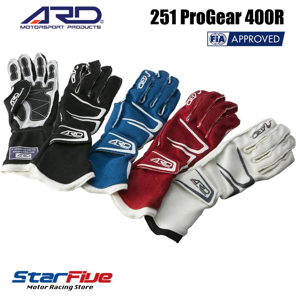 ARD レーシンググローブ 251 Progear-400R FIA2000公認