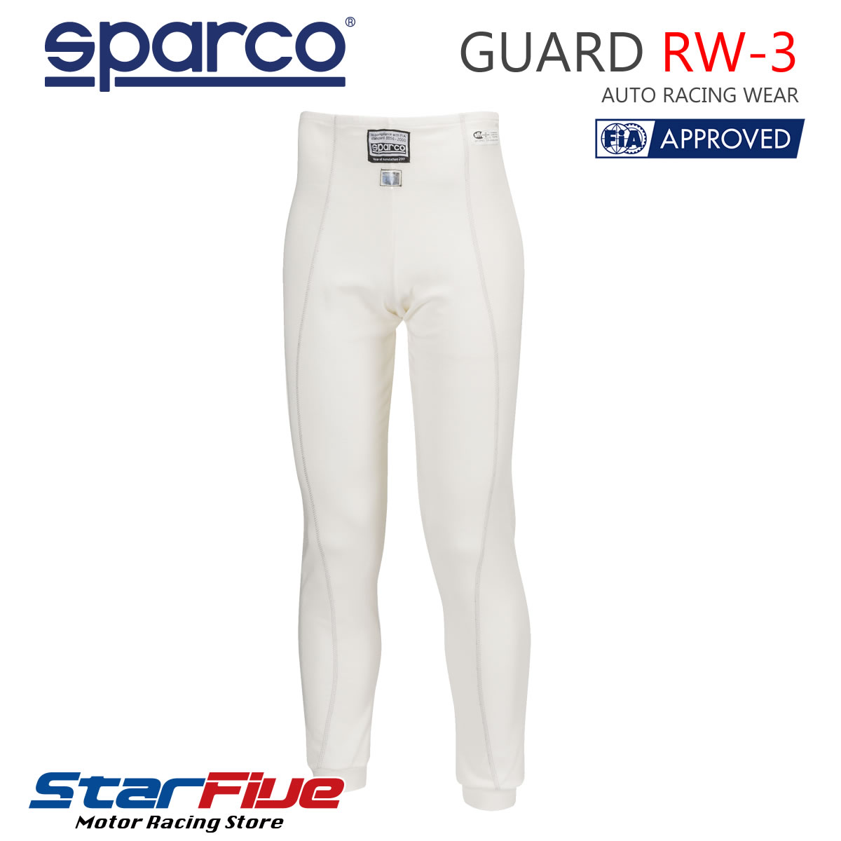 スパルコ アンダーウェア 4輪用 GUARD RW-3(カード)パンツ FIA2000公認 SPARCO
