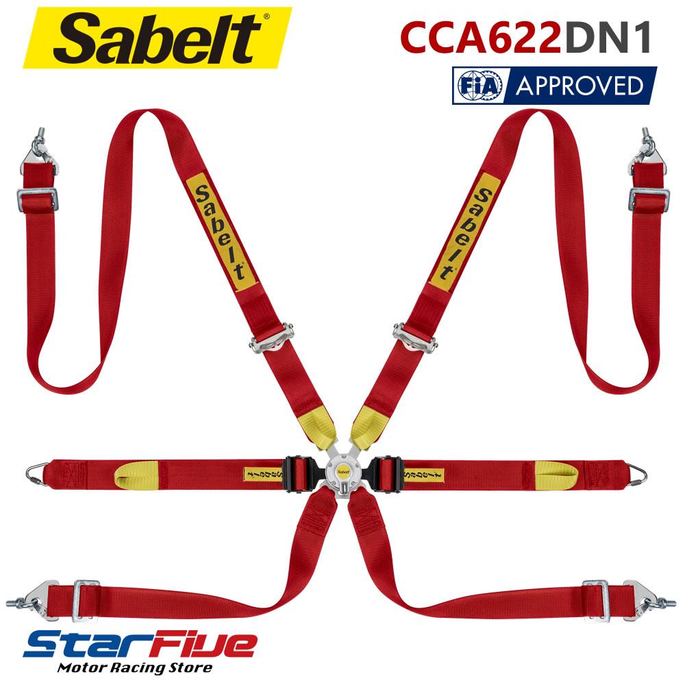 サベルト 6点式シートベルト CCA622DN1 ツーリングカー用 FIA公認 Sabelt