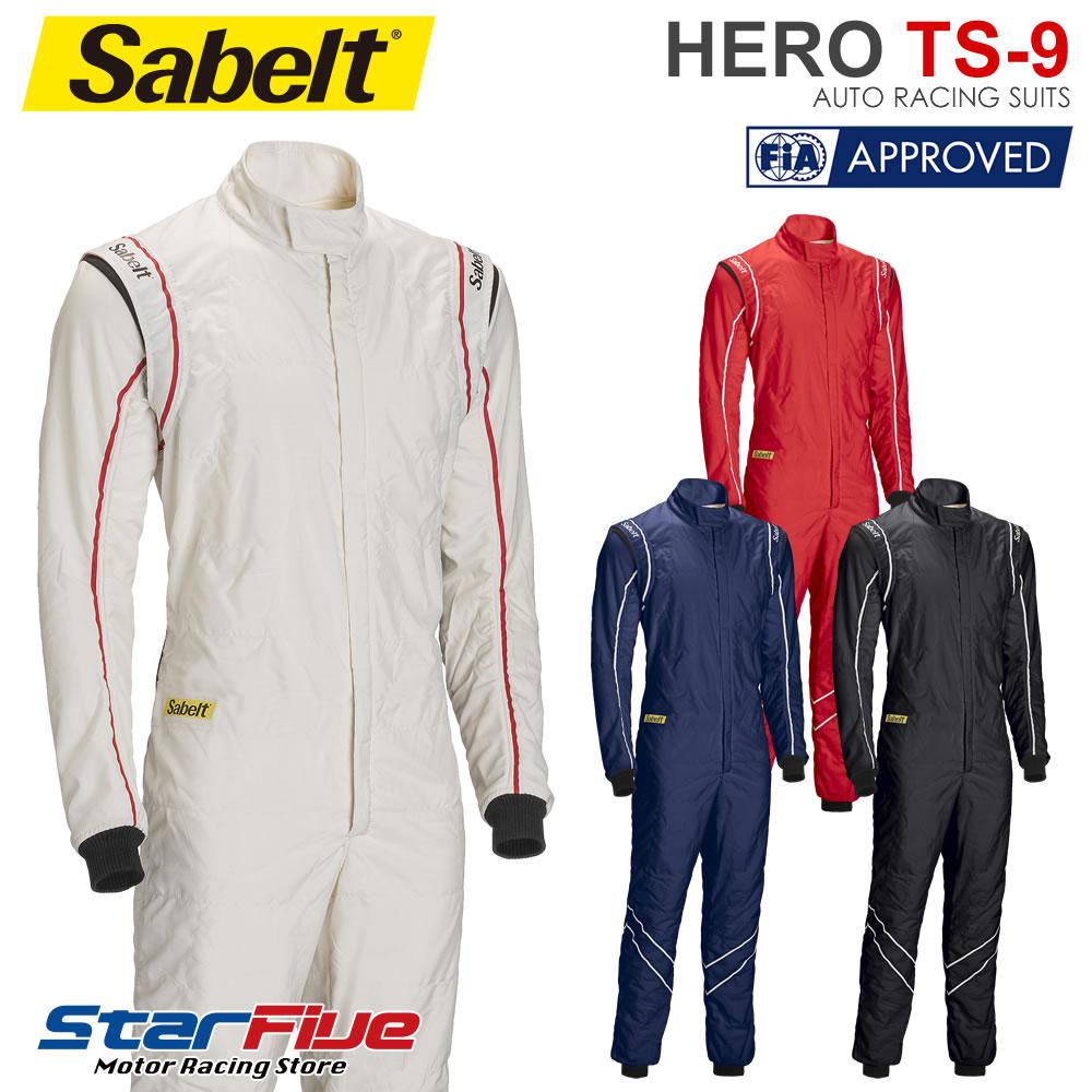 Sabelt/サベルト レーシングスーツ 4輪用 HERO TS-9 FIA2000公認