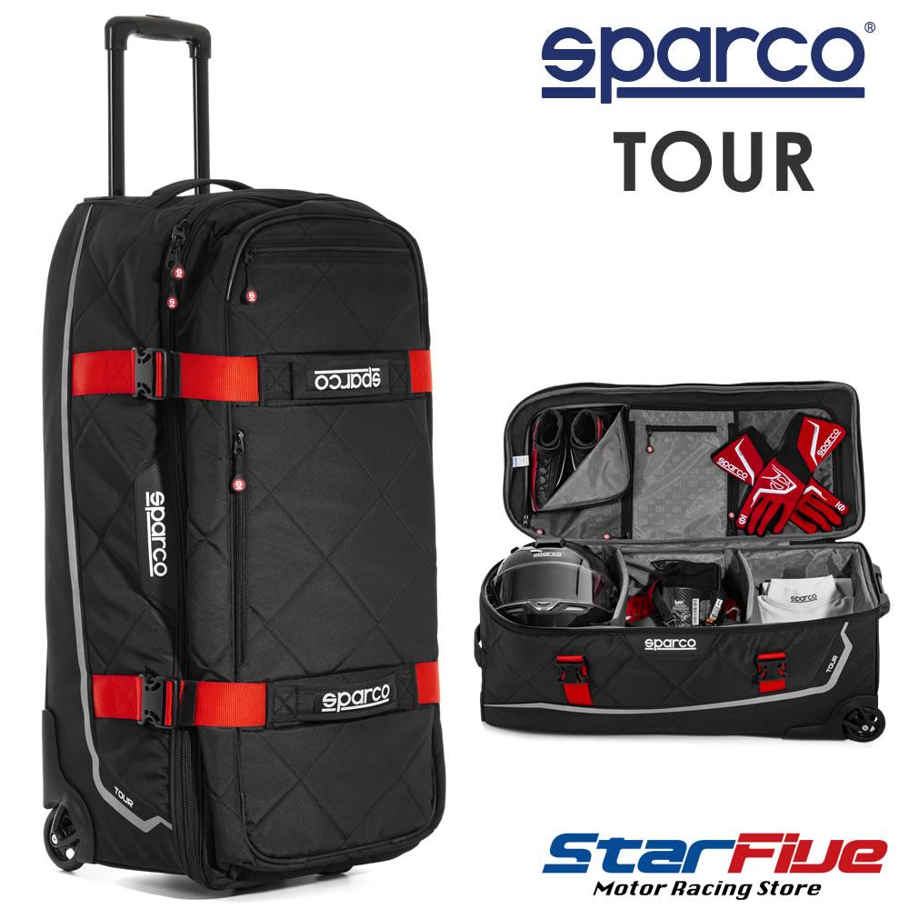 スパルコ キャリーバッグ TOUR(ツアー)Sparco 2020年モデル
