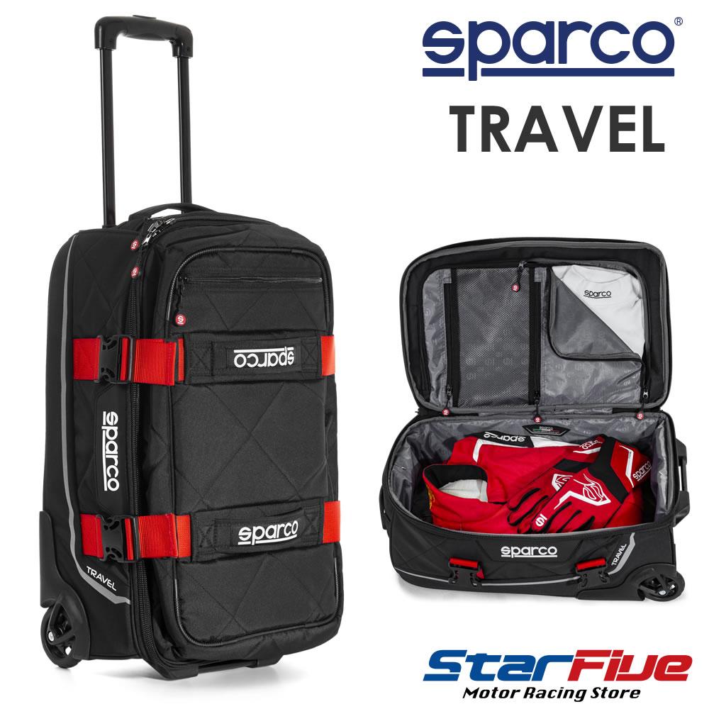 スパルコ キャリーバッグ TRAVEL(トラベル)Sparco 2020年モデル