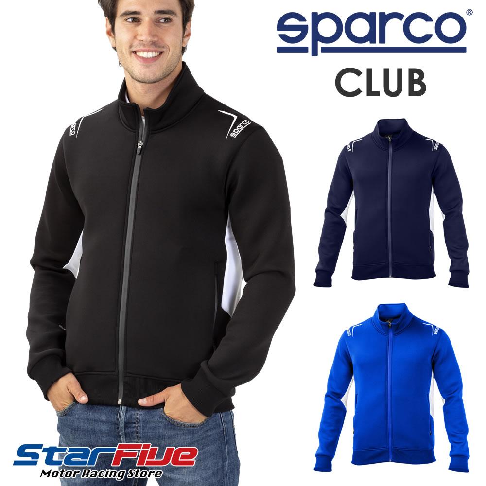 スパルコ ジップスウェットトレーナー CLUB (クラブ) Sparco 2020年モデル