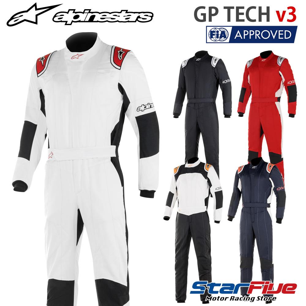 alpinestars/アルパインスターズ レーシングスーツ 4輪用 GP TECH v3 FIA2018公認