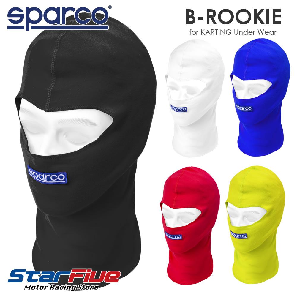 2021年NEWモデル スパルコ フェイスマスク カート用 B-ROOKIE 出色 2021年モデル 期間限定お試し価格 ルーキー Sparco