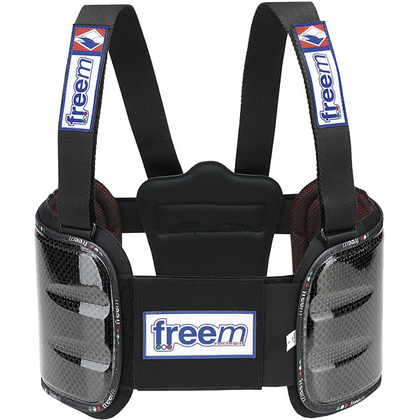 freem フリーム BRAVEリブプロテクターベスト カーボン レーシングカート用