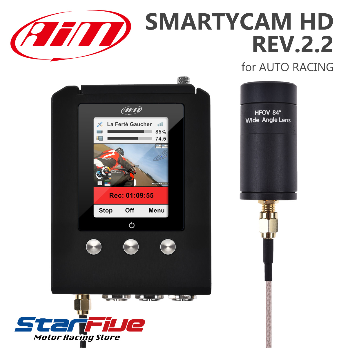 Aim SMARTYCAM GP HD REV.2.2 デジタルビデオカメラ 車載オンボード(エーアイエム)