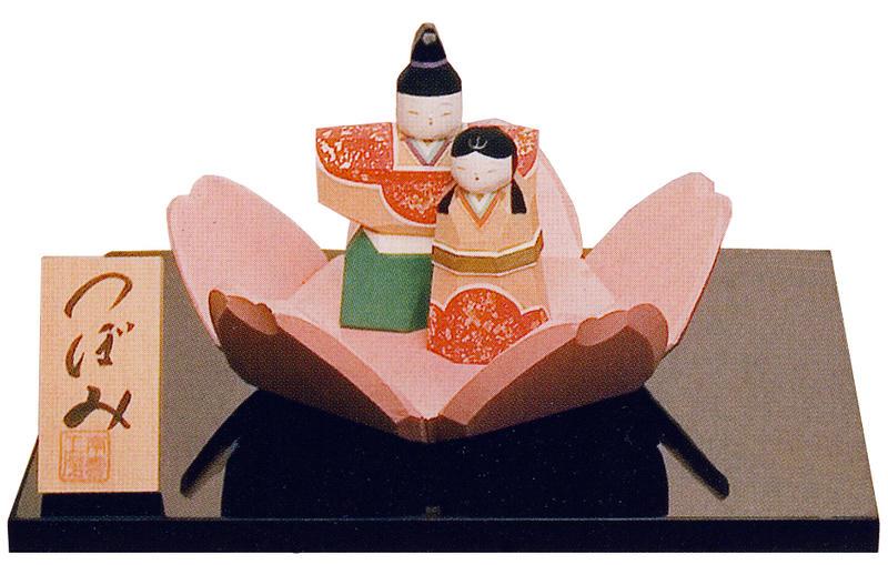 雛人形 ひな人形 木彫り人形 南雲 「つぼみ」 NU-329 【smtb-s】