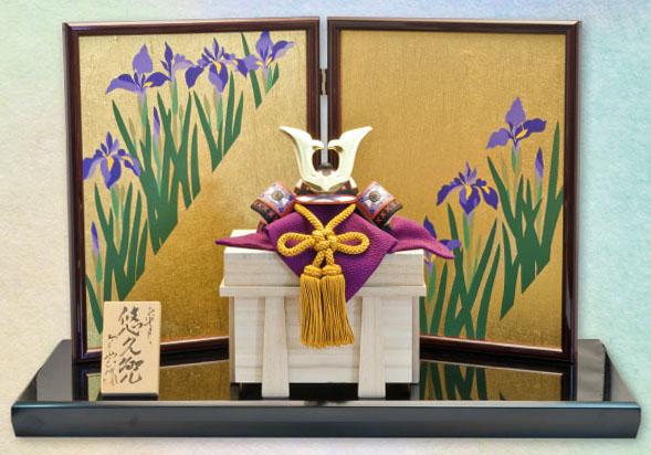 五月人形 木彫り人形 一刀彫 南雲 「悠久兜」 NU-538【smtb-s】