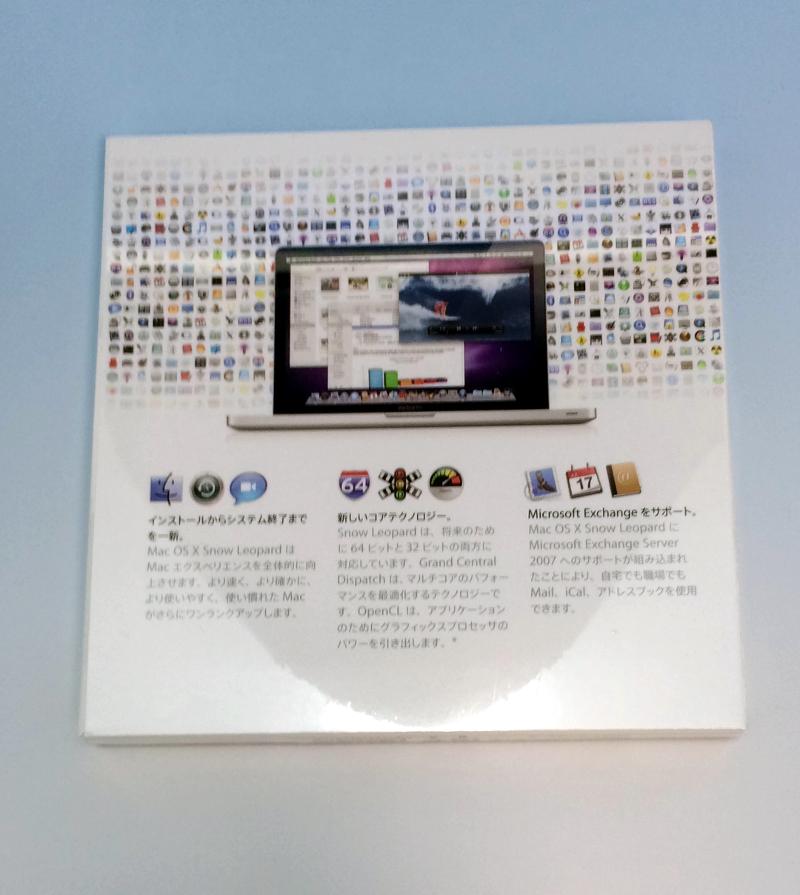 Point 5 times! 8/4 20:00 - 8/9 01:59 MAC OS X 10 6 3 SNOW LEOPARD Snow Leo  soft-headed doh