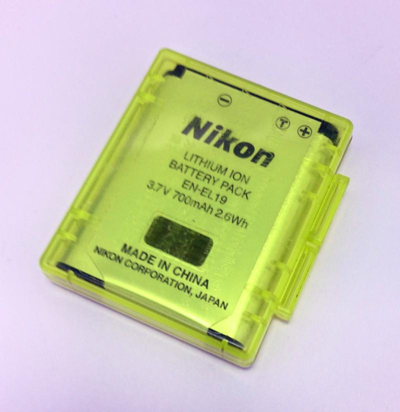 尼康尼康 en el19 股票电池包锂离子电池池塘数码相机数码相机
