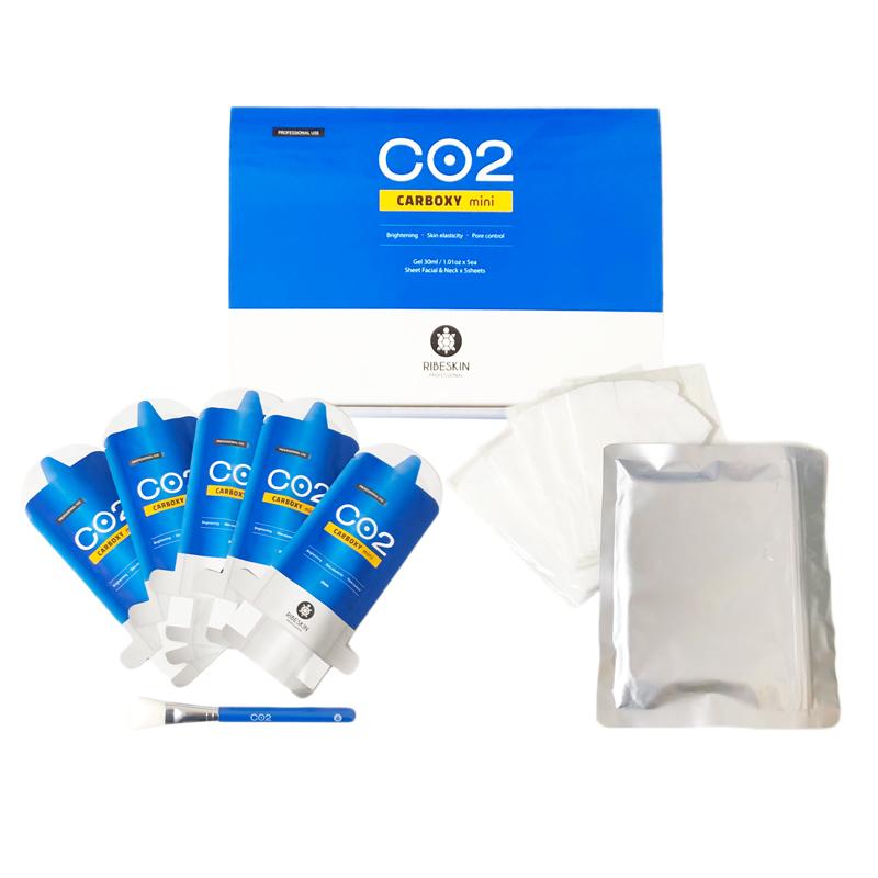 カーボキシー 炭酸パック 即納 贈り物 正規品 CARBOXY 半額 5枚入り 箱なし 5回分 Co2パウダー入りフェイスマスク