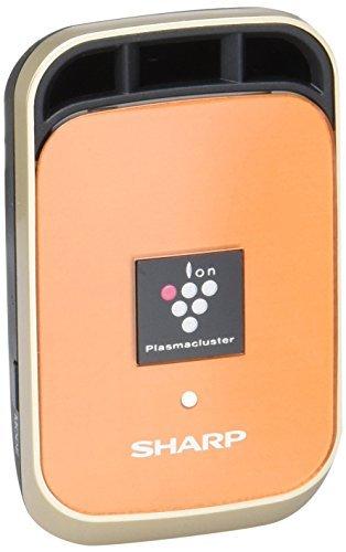 低価格化 シャープ イオン発生機 車用 カーエアコン取付タイプ 往復送料無料 IG-HC1-D オレンジ プラズマクラスター25000搭載