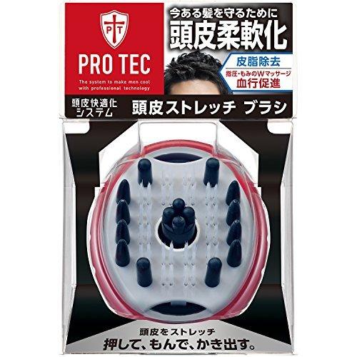PRO TEC 訳ありセール 格安 プロテク 期間限定特価品 頭皮ストレッチタイプ ウォッシングブラシ