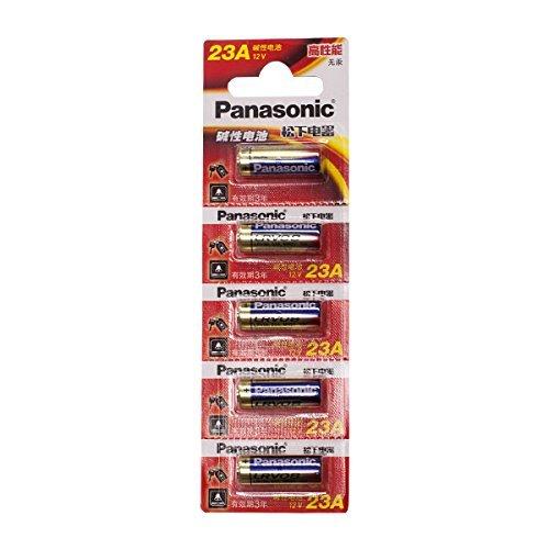 panasonic アルカリ電池 12V 5本セット 23A マーケティング 卓抜
