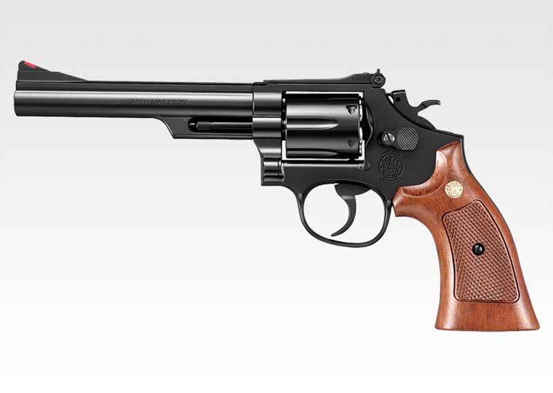 東京マルイ ガスリボルバー S&W M19 6インチ 18才以上用