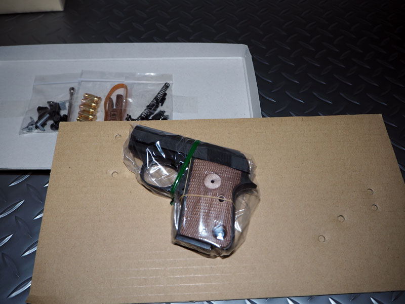 マルシン工業 モデルガン 組み立てキット コルト25オート ダミーカートリッジ仕様 ブラックヘビーウェイトモデル:ホビー&雑貨のお店 スターゲート