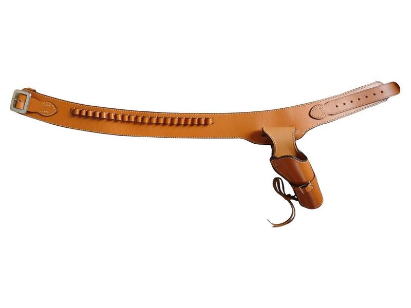 イーストエー ウエスタンガンベルト 牛革製 ブラウン Mサイズ No.001-M-Br