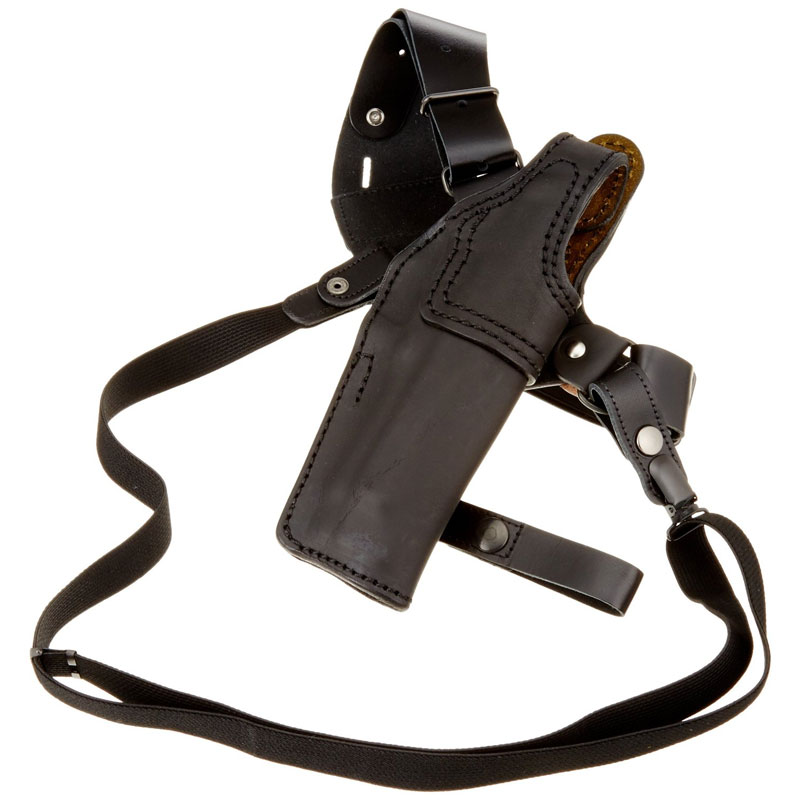 イーストエー シルエットショルダーホルスター M92F用 牛革製 ブラック No.S226-BK