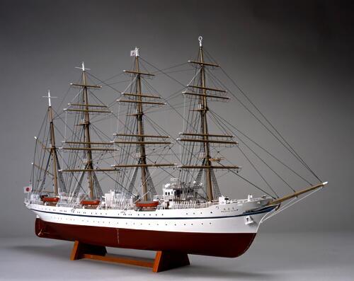 【送料無料】 ウッディジョー 木製帆船模型 1/160 日本丸 帆なし