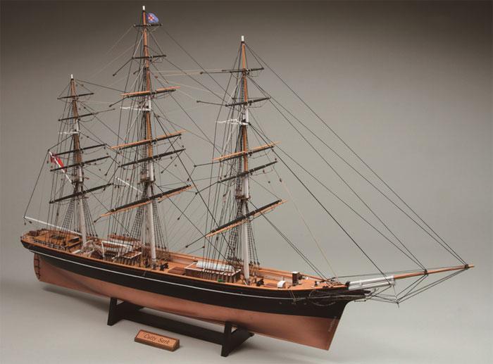 【送料無料】 ウッディジョー 木製帆船模型 1/100 カティサーク 帆なし