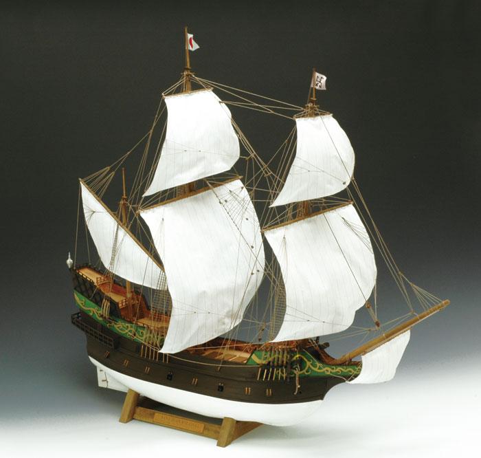 【送料無料】 ウッディジョー 木製帆船模型 1/80 サン・ファン・バウティスタ