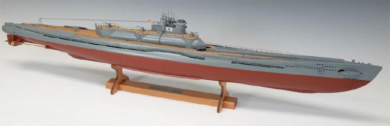 【送料無料】 ウッディジョー 木製模型 1/144 伊400 日本特型潜水艦