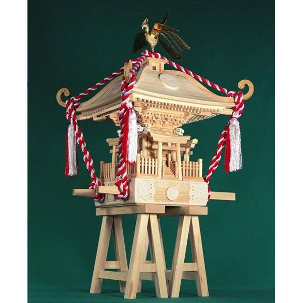 【送料無料】 ウッディジョー 木製模型 1/5 町神輿