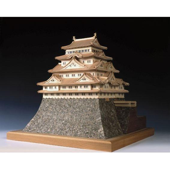 【送料無料】 ウッディジョー 木製建築模型 1/150 名古屋城 レーザーカット加工