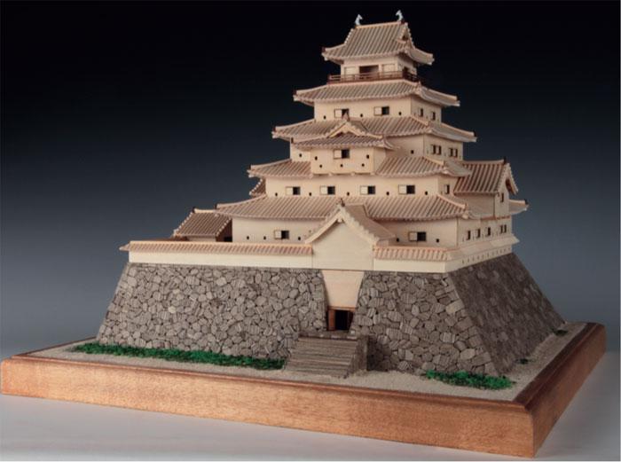 【送料無料】 ウッディジョー 木製建築模型 1/150 鶴ヶ城 レーザーカット加工