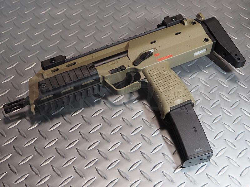 KSC ガスブローバック MP7A1 タクティカル Tanカラー