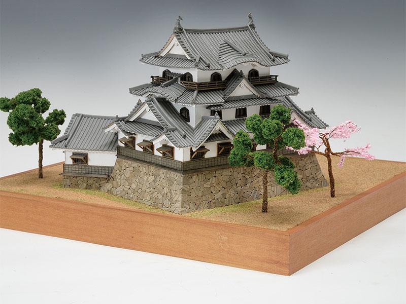 【送料無料】 ウッディジョー 木製建築模型 1/150 彦根城