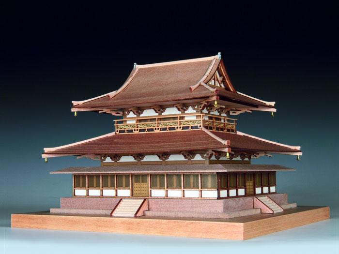 ウッディジョー 1/150 法隆寺 金堂