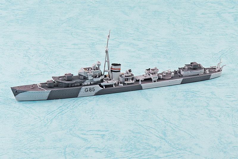 安心のヤマト運輸で東京からの発送です アオシマ プラモデル 1/700 ウォーターライン No.915 英国海軍 駆逐艦 ジュピター