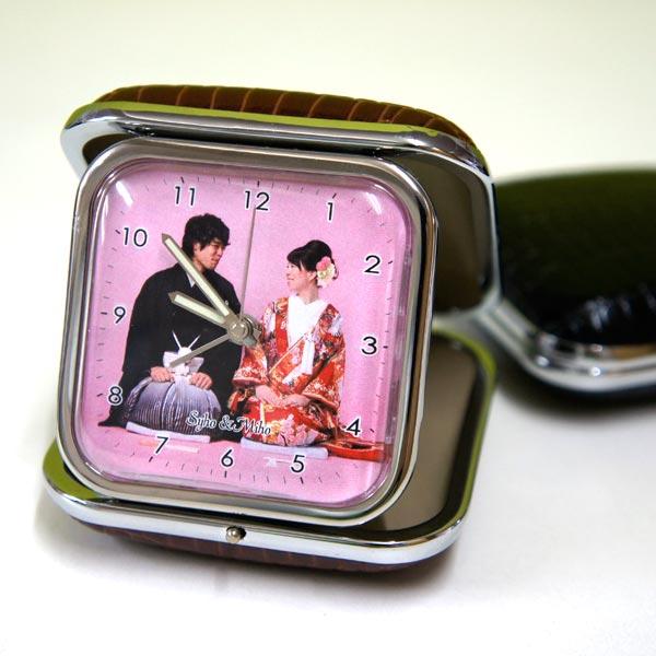 "Make original watch MY photos in ""travel watch' alarm clock 10P28oct13"