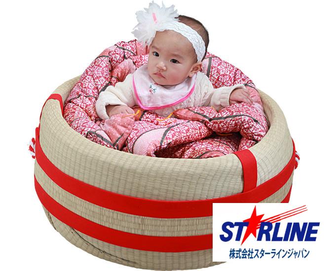 青森の伝統工芸品えんつこ(嬰児籠) 赤ちゃんのゆりかご ゆりかご 出産祝い ベビーベッド ベビー用品