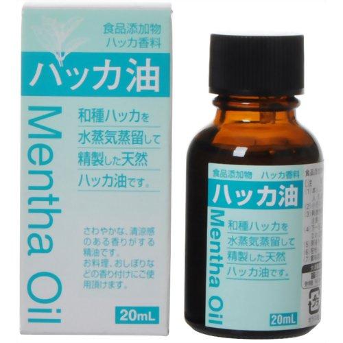 ハッカ油 20mL ストアー 日本全国 送料無料 大洋製薬
