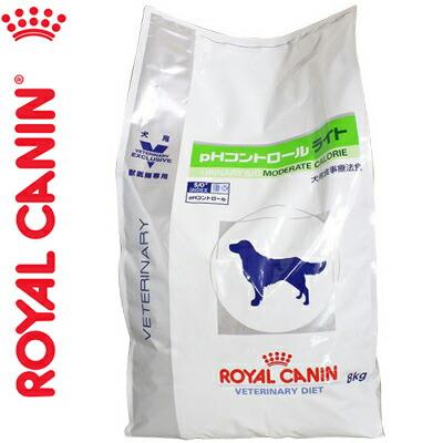 ロイヤルカナンベテリナリーダイエット pHコントロール ライト 8kg [犬用]