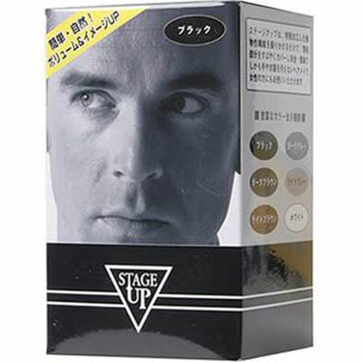 ステージアップ ブラック 35g プランテック 薄毛対策 ボリュームアップ おすすめ 国内正規総代理店アイテム 人工毛粉末 頭髪 新作 人気 増毛パウダー