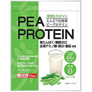 PEA PROTEIN えんどう豆由来ピープロテイン 新作製品、世界最高品質人気! 300g 5☆好評 うすき製薬 食事コントロール ダイエット 置き換えダイエット プロテイン リバウンド防止