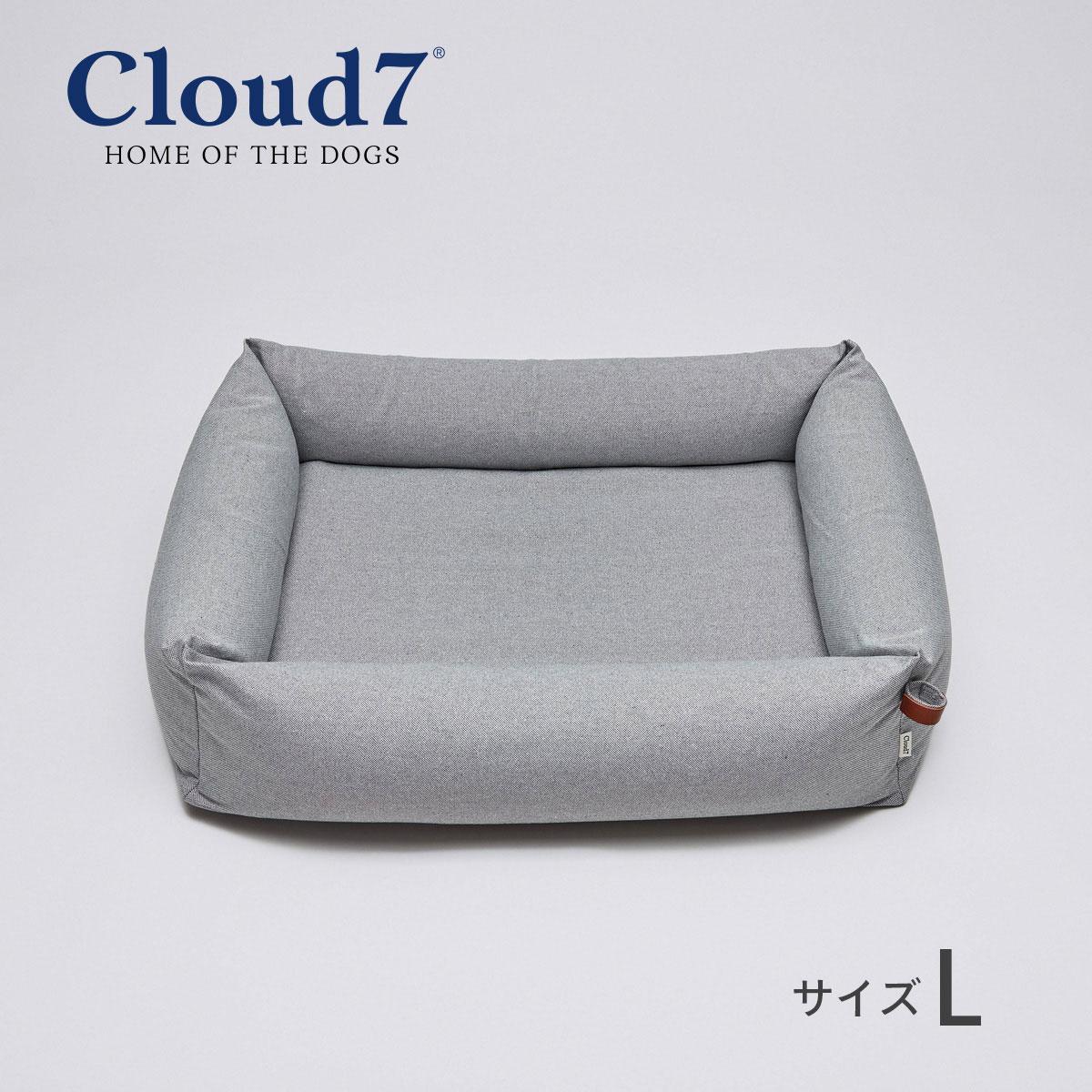 高品質の犬用ベッド ペットベッド Cloud7 クラウド7 スリーピー デラックス 超特価 ツイードグレー インテリア Lサイズ ペット [正規販売店] 海外直輸入