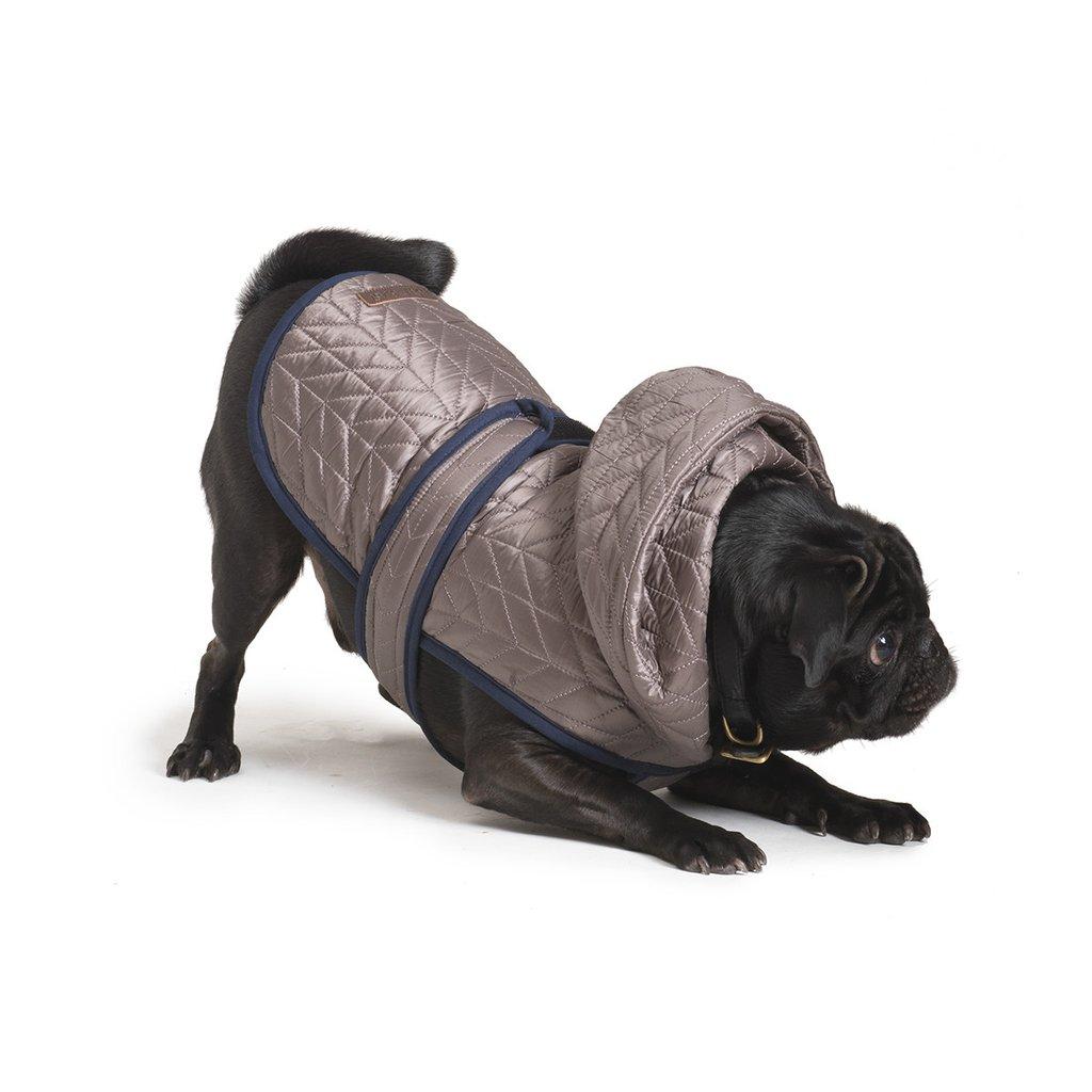 海外直輸入 犬用ダウン ジャケット LoveThyBeast ラブ ザイ ビースト ナイロンバッファジャケットカラー: サイズ ダウン 高級な 国産品 海外直輸入品 6号 犬 8号 グレー
