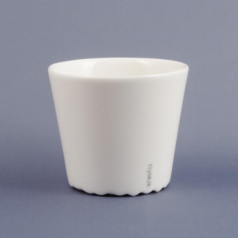ミルクティーやラテ 何なら焼酎などにも素敵です 定番キャンバス プレートと合わせればカフェ風に relax - テーブルウェア cup カップ ceramic ttyokzk ハンドルなし 希望者のみラッピング無料 セラミック タツヤオカザキ デザイン design